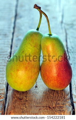 Couple of pears - stock photo