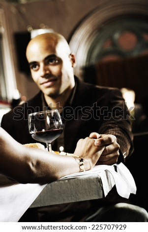 Couple on a Date - stock photo