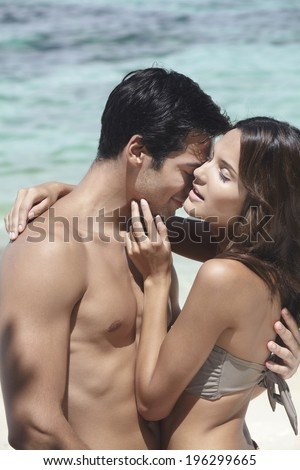 couple on vacation,Boracay in Philippine