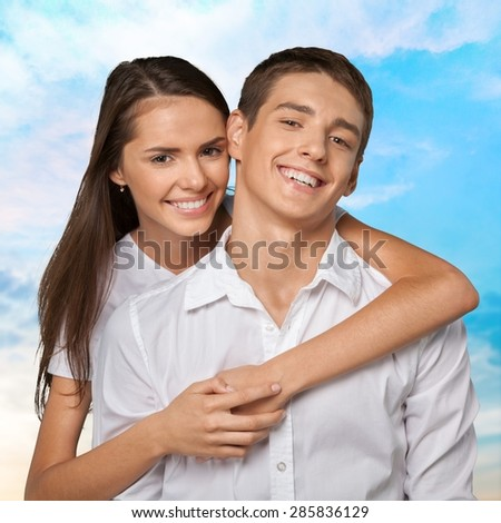 Couple, Romance, Laughing.