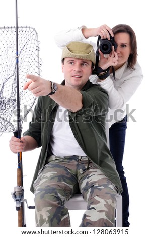 Couple with hobbies
