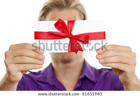 coupon for you - stock photo