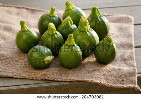 Courgette or zucchini  - stock photo
