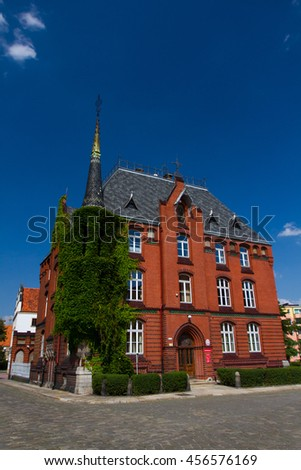 Court building in Nysa, Poland.