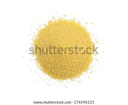 Couscous - stock photo