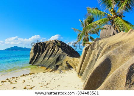 Cove Beach Beauty  - stock photo