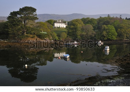 Cove Harbour, Nr. Caherdaniel, Ring of Kerry, Ireland - stock photo