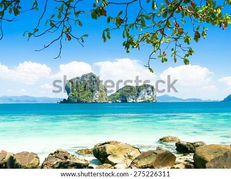 Cove View Serenity Shore  - stock photo