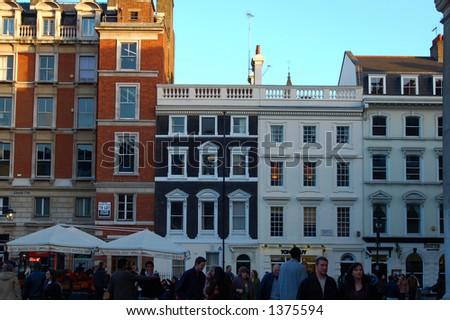 Covent Garden, London, England - stock photo