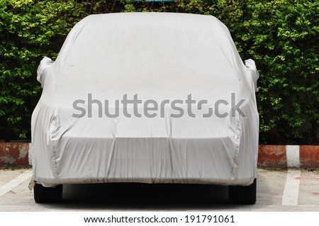 cover car  - stock photo