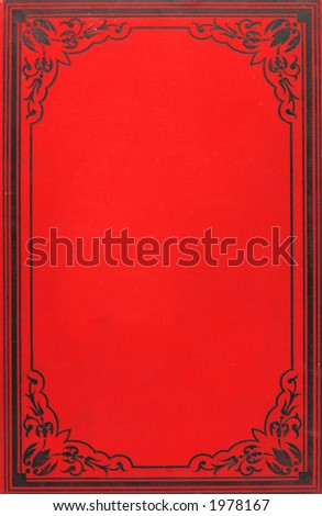 Cover of book published at 1860 ies - stock photo