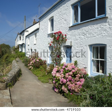 coverack cornwall england uk