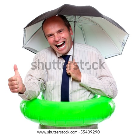 Coverage or Protection - stock photo