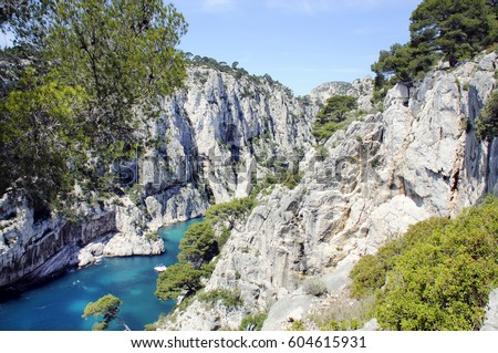 coves of den vau, marseilles, france