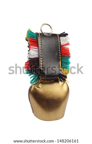 Cow bell - stock photo