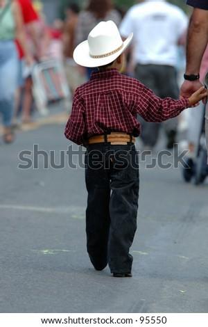 Cowboy - stock photo