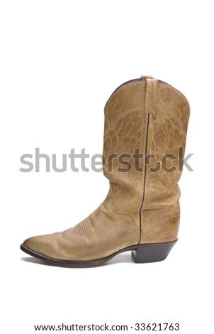 Cowboy Boot - stock photo