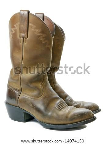 Cowboy Boots 2 - stock photo