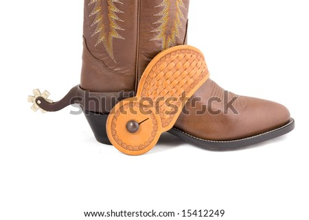 Cowboy gear - western riding equipment, spurs