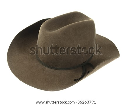 Cowboy hat - stock photo