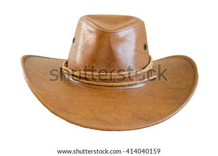 cowboy hat isolated. - stock photo