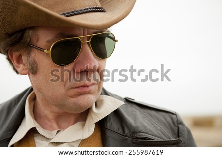 Cowboy With Sunglasses