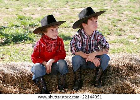 Cowboys - stock photo