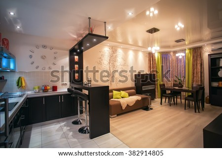 Studio Apartment Stock Images Royalty Free Images Vectors Shutterstock