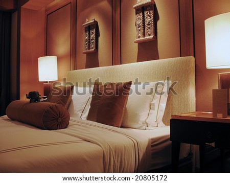 Cozy Bed in 5-star Asia Hotel