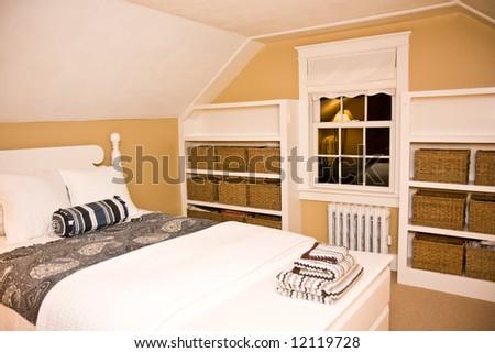 Cozy new england style bedroom stock photo royalty free 12119728 cozy new england style bedroom sisterspd