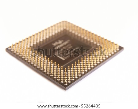 cpu processor isolated