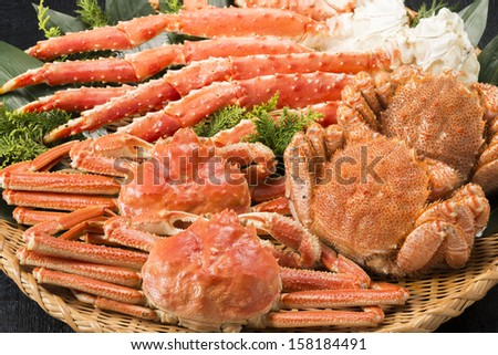 crab - stock photo