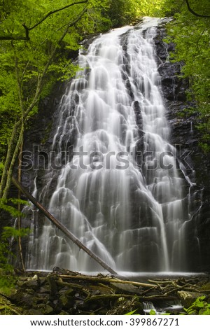 Crabtree Falls - just off the Blue Ridge Parkway in North Carolina