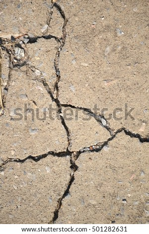 crack cement floor texture