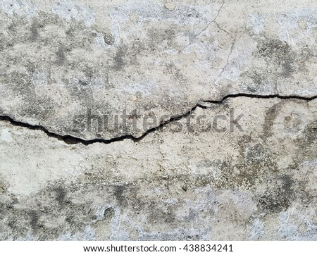 crack dirty concrete floor texture