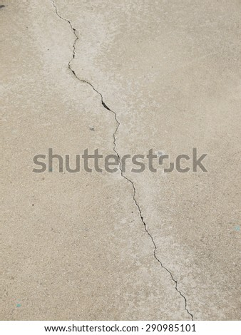 crack floor texture - stock photo