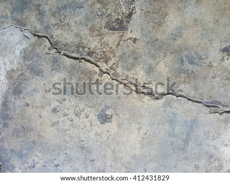 crack old concrete texture background