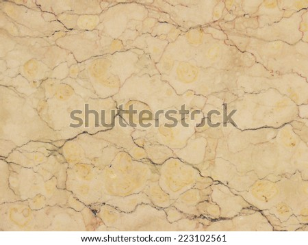crack on brown marble - stock photo