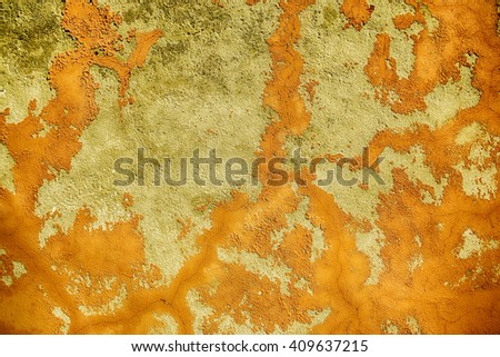 cracked concrete vintage wall background,old wall, vivid  - stock photo