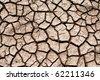 cracked earth background - stock photo