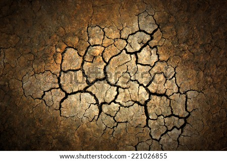 cracked earth surface. Abstract natural background  - stock photo