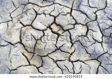 cracked earth texture background, Hope concept