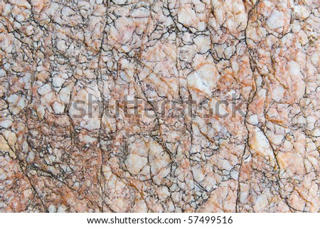 Cracked marble pattern