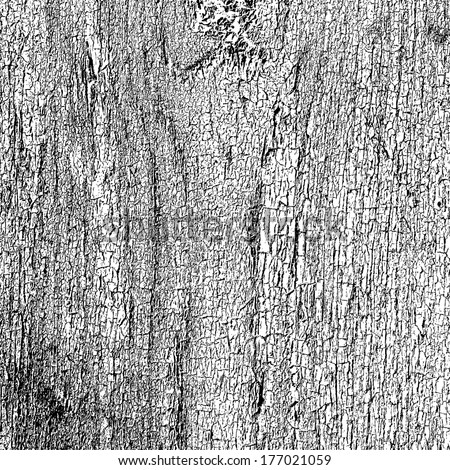 Cracked Paint overlay texture for your design.  - stock photo