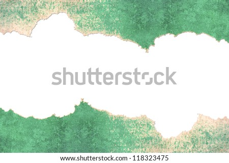 cracked paper - stock photo