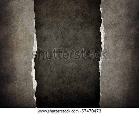cracked paper background - stock photo