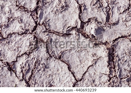cracked soil as a texture