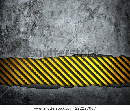 cracked wall with stripes background