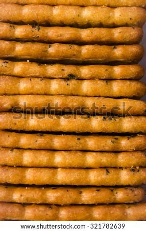Cracker - stock photo