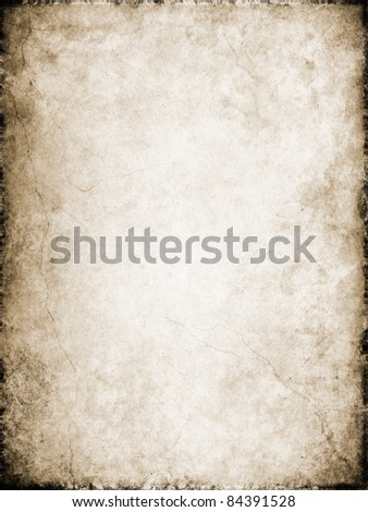 Cracks and stains on a vintage textured background. - stock photo